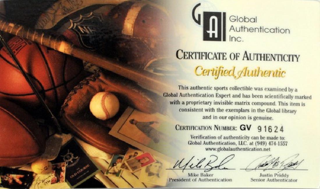 Joe DiMaggio Signed Baseball Hat - 4