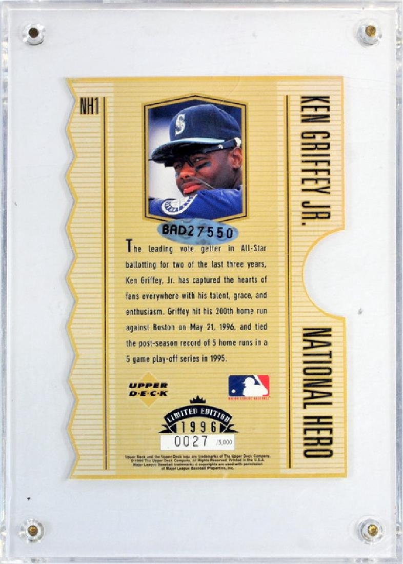 Ken Griffey Jr. Hero C-card Auto - 2