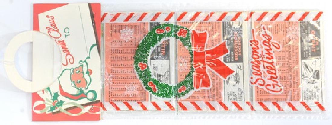 1966 Topps Christmas Rack Pack - 2