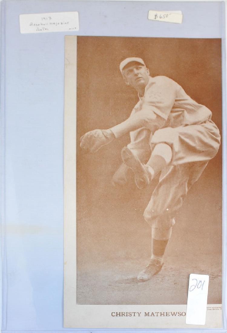 1913 Christy Mathewson Baseball Magazine Poster