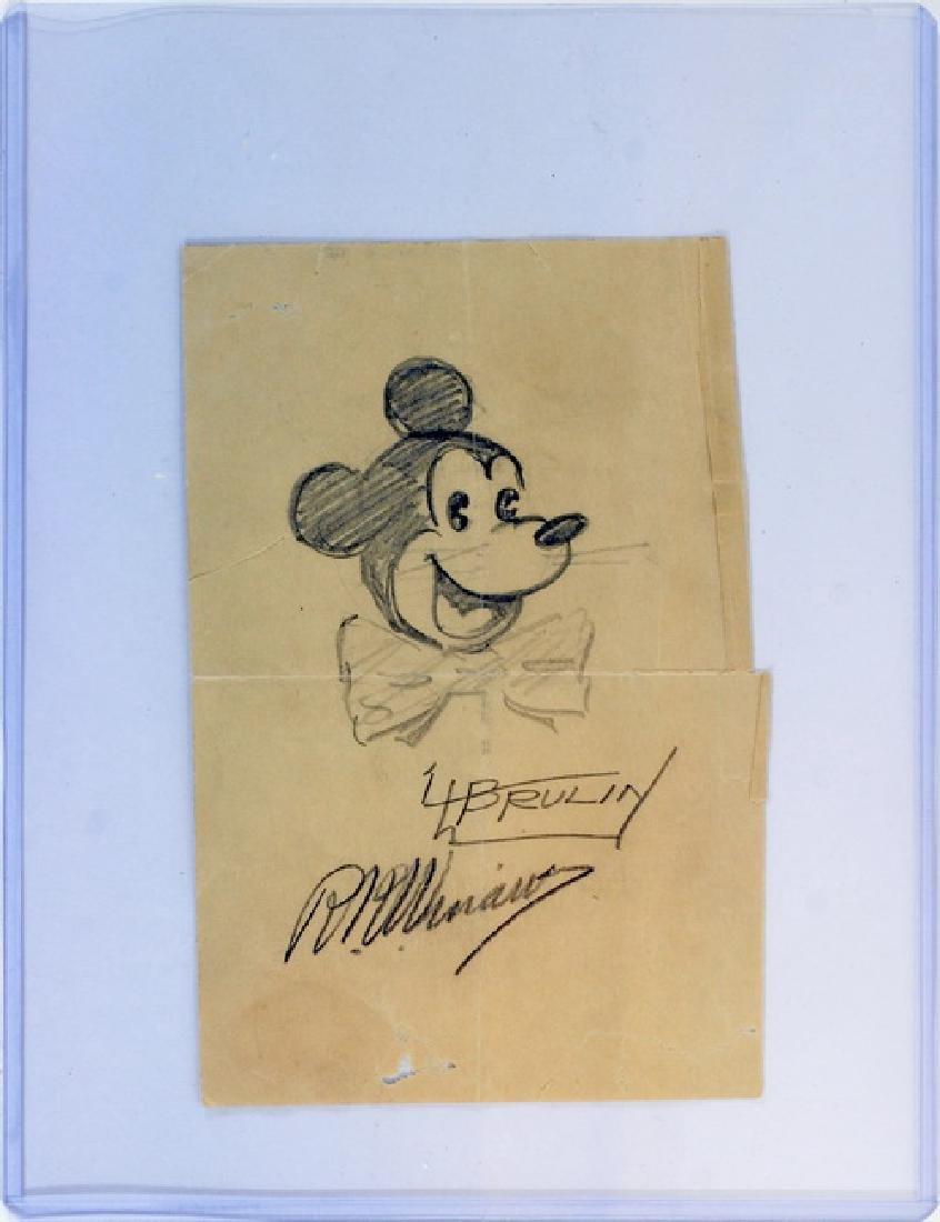 5 Vintage Autographs Fdr, Fuzzy Thurston - 2