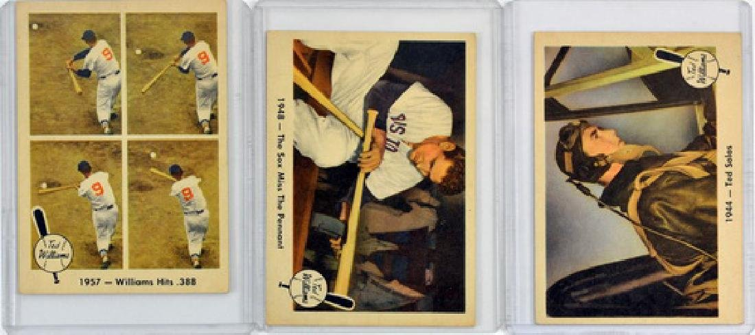 6 Vintage Ted Williams Cards