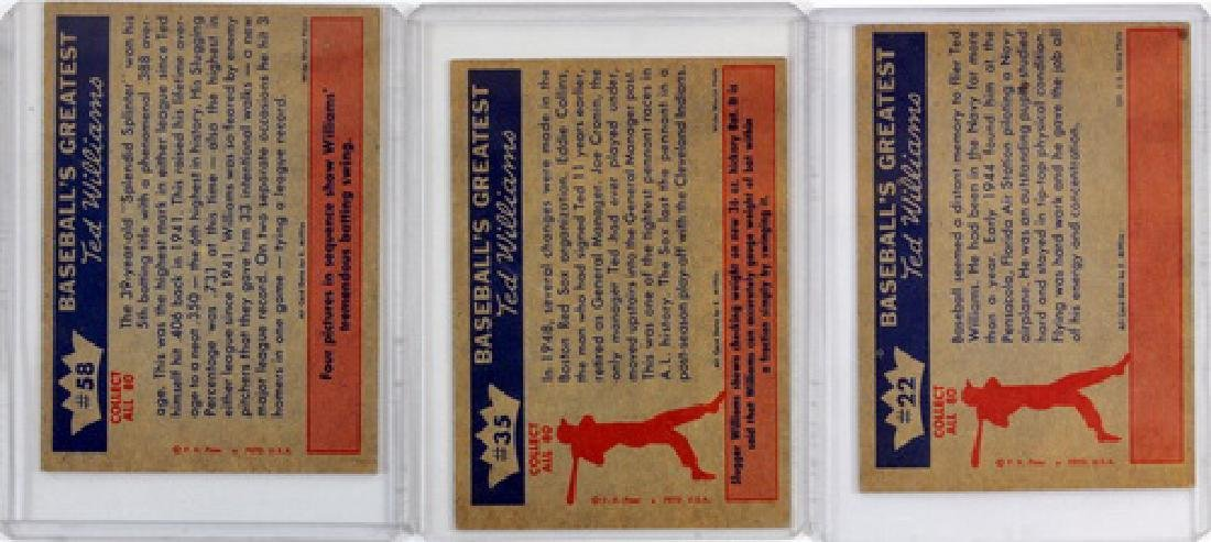 6 Vintage Ted Williams Cards - 2