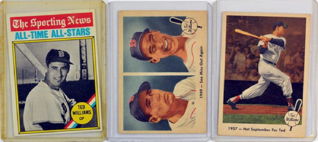 6 Vintage Ted Williams Cards - 3