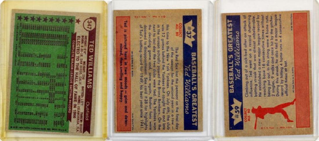 6 Vintage Ted Williams Cards - 4