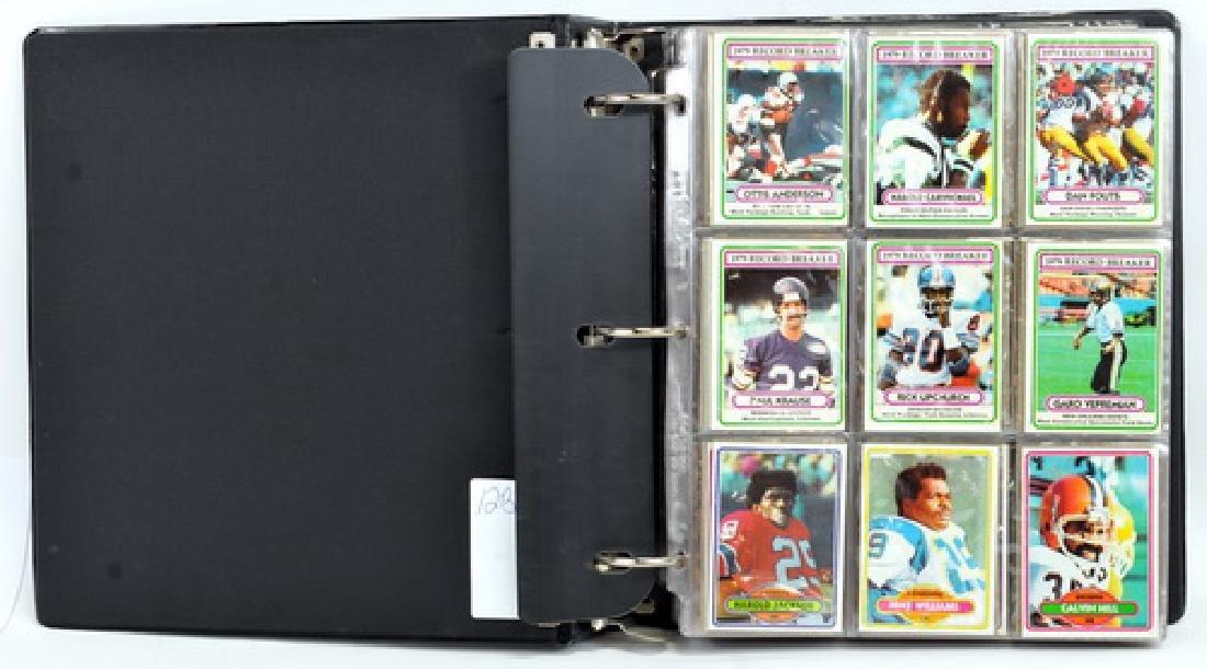 1980 Topps Football Complete Set