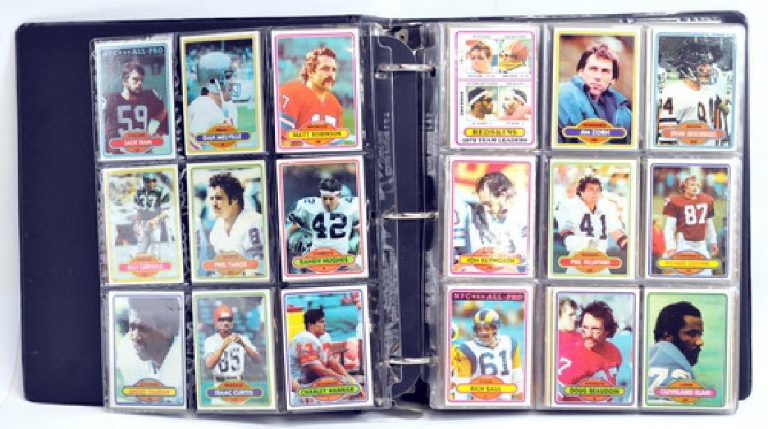 1980 Topps Football Complete Set - 2