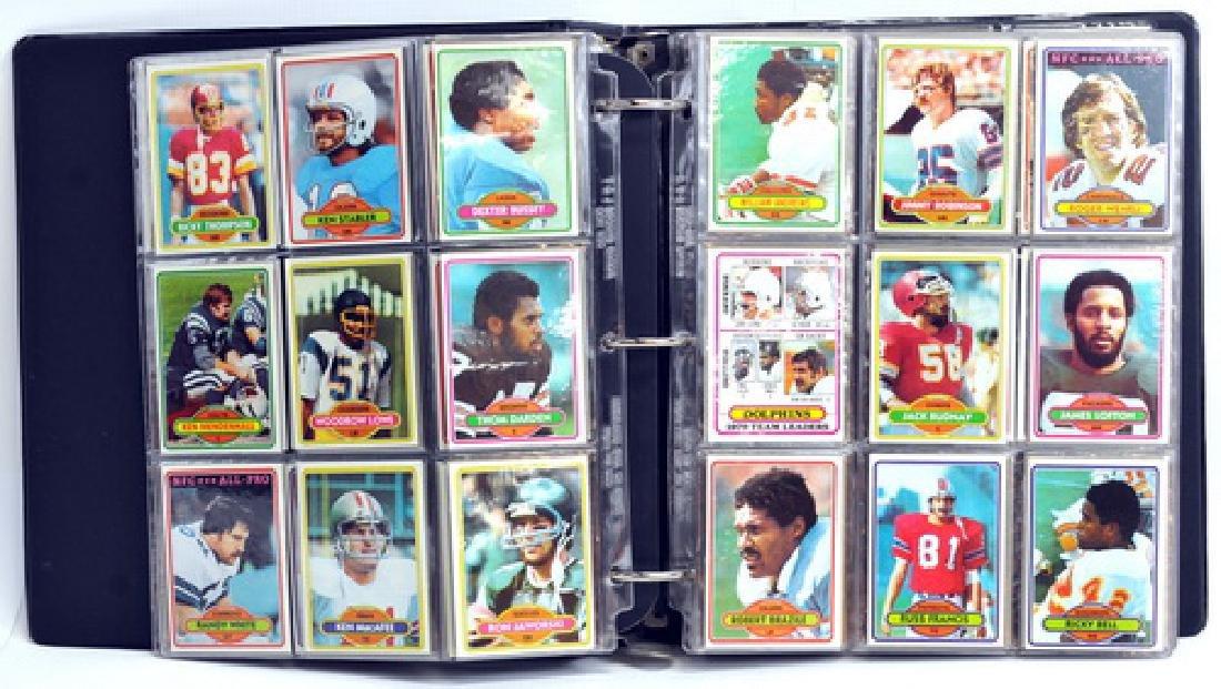 1980 Topps Football Complete Set - 4