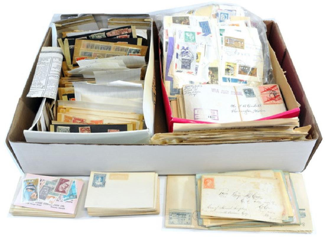 Estate Stamps and Letters
