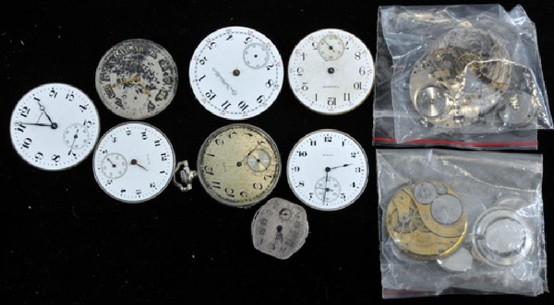 10 Antique Pocket Watch Movements