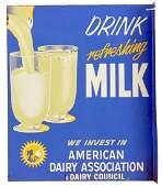 Vintage Drink Milk American Dairy Assoc