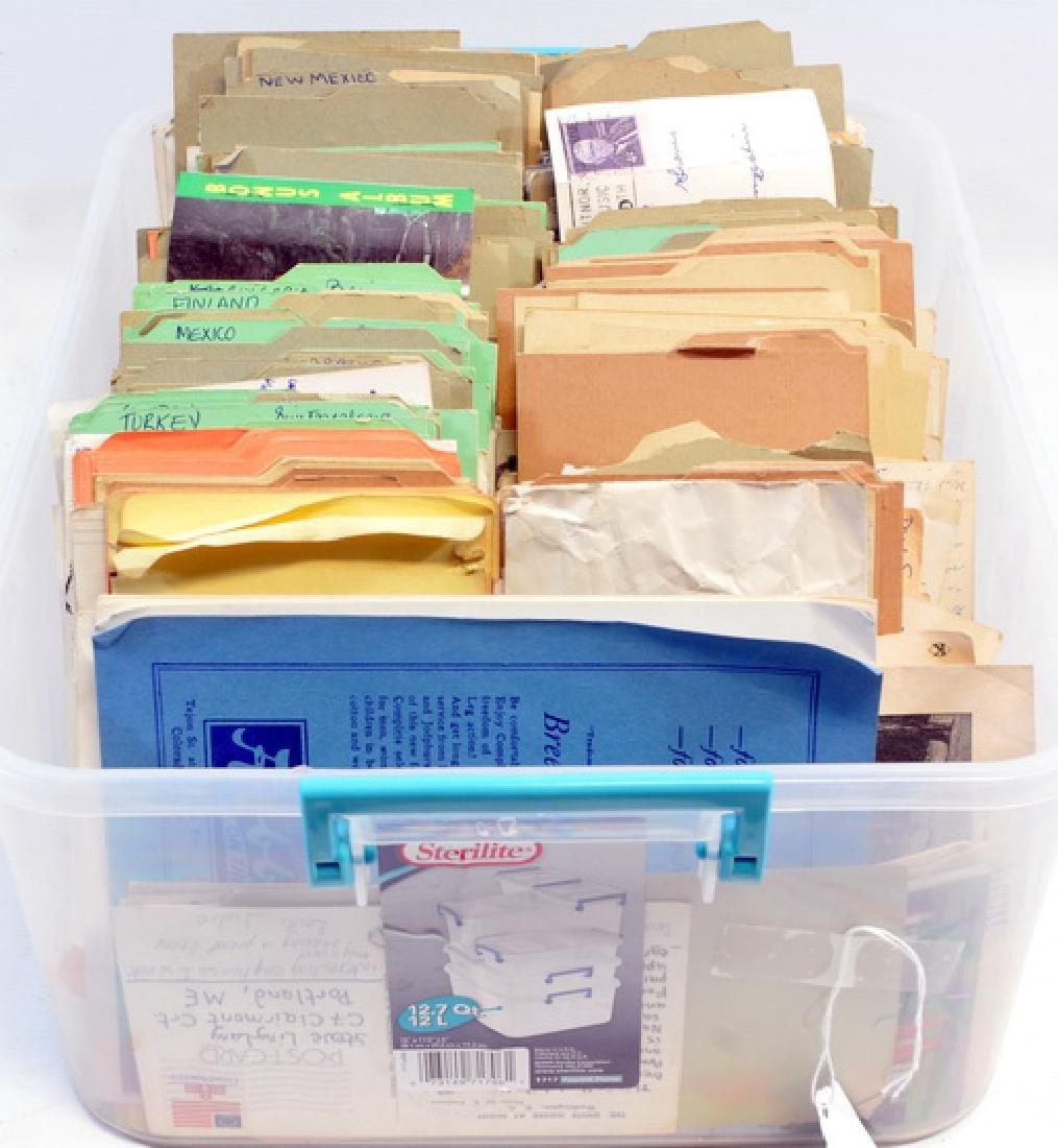 Over 500 Estate Postcards