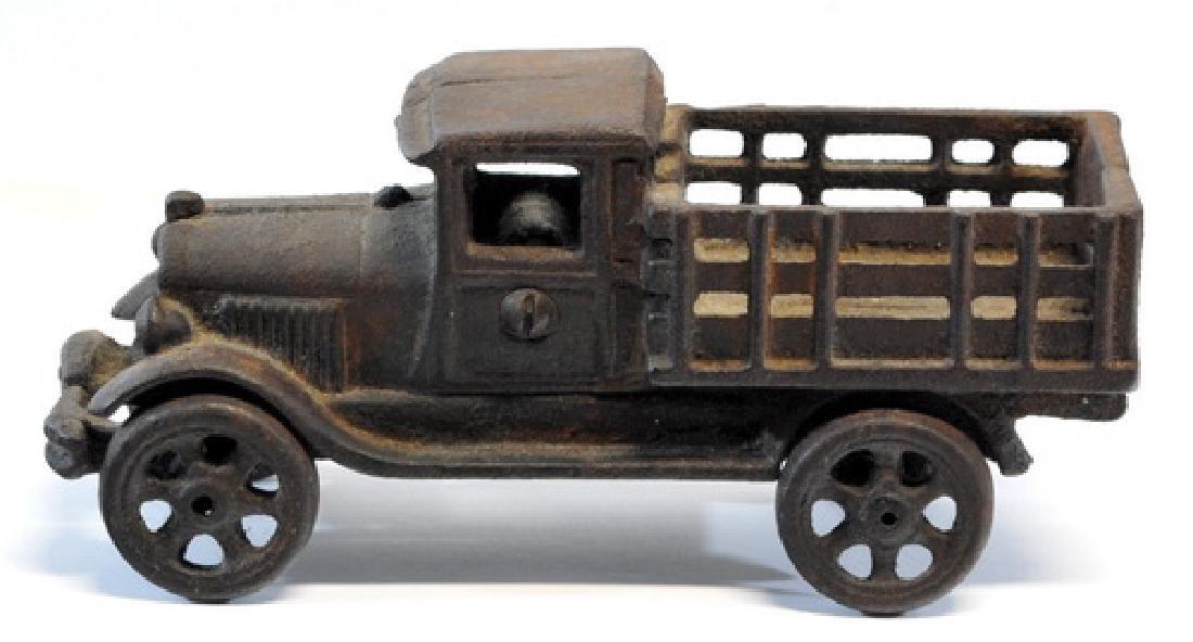 Original 1920's Hubley Cast Iron Truck