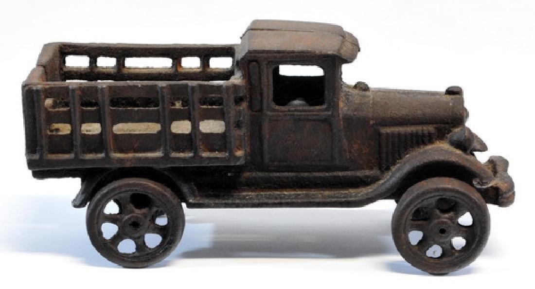 Original 1920's Hubley Cast Iron Truck - 2