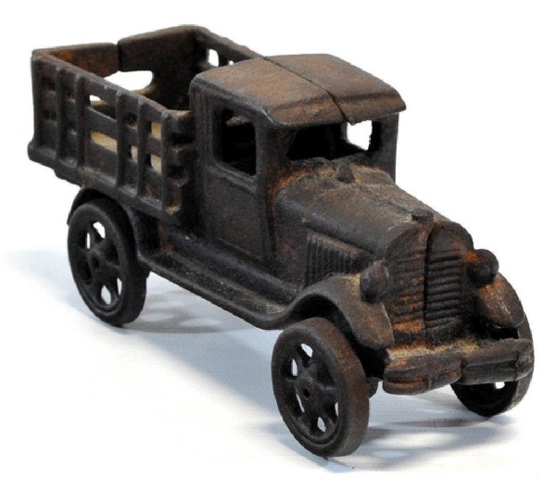 Original 1920's Hubley Cast Iron Truck - 3