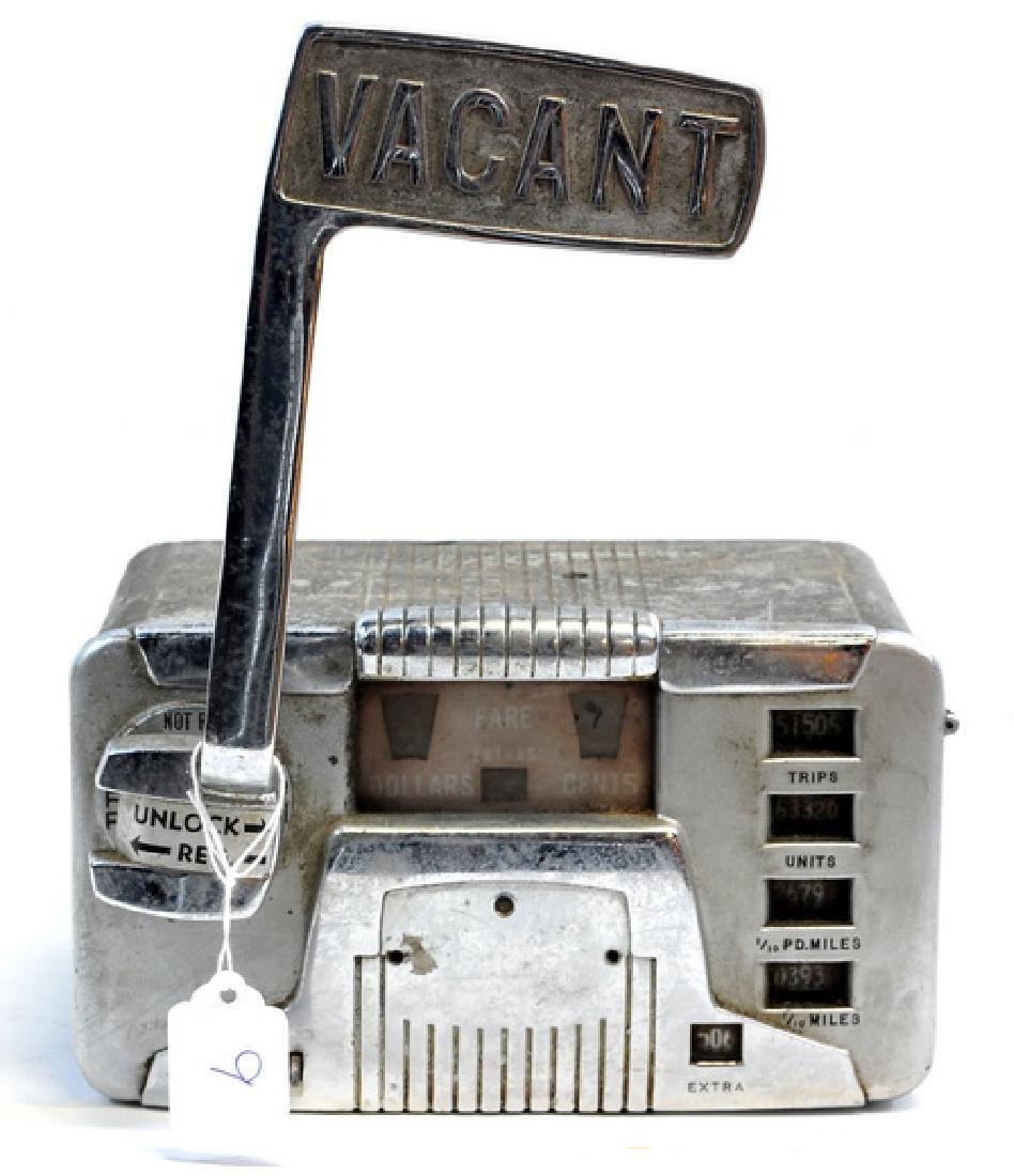 Original 1940's Taxi Meter