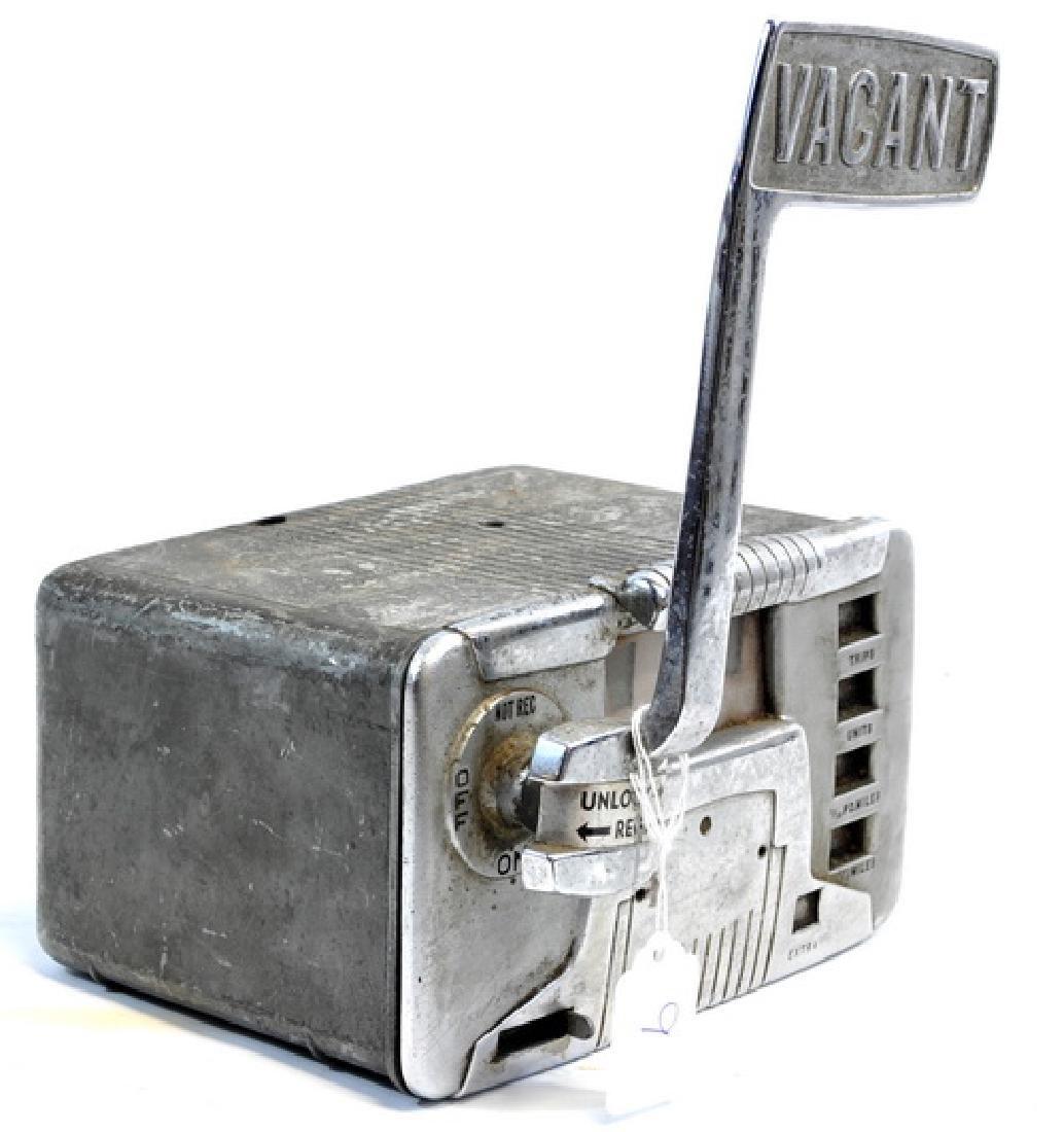 Original 1940's Taxi Meter - 2