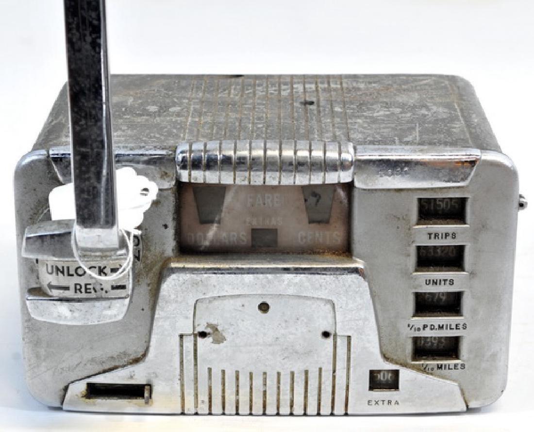 Original 1940's Taxi Meter - 3
