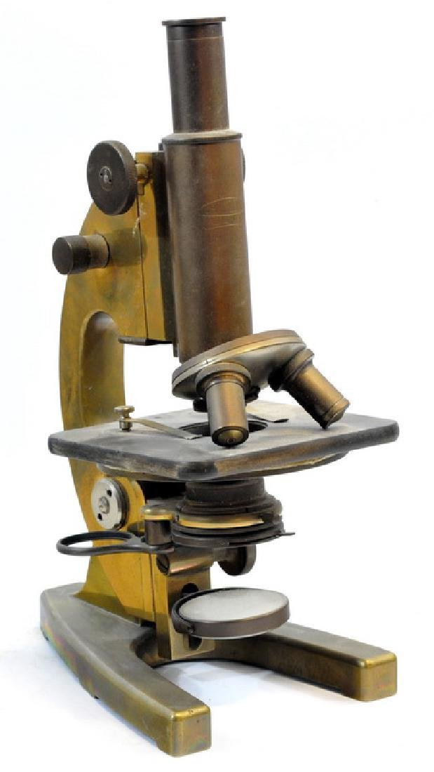 Antique Carl Zeiss Jena Microscope