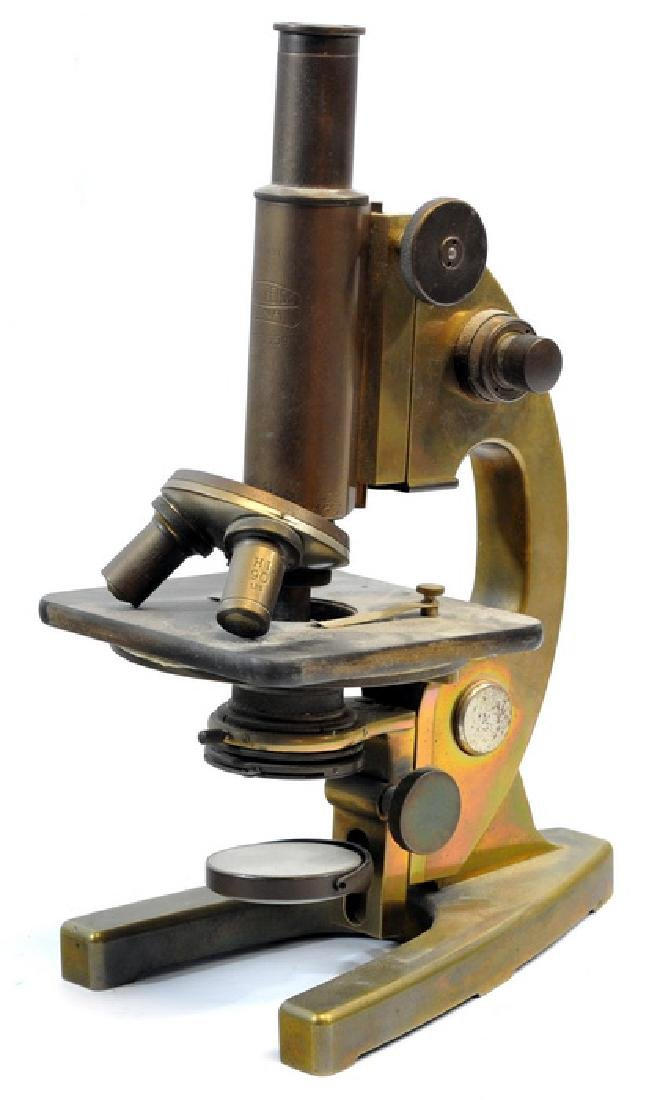 Antique Carl Zeiss Jena Microscope - 2