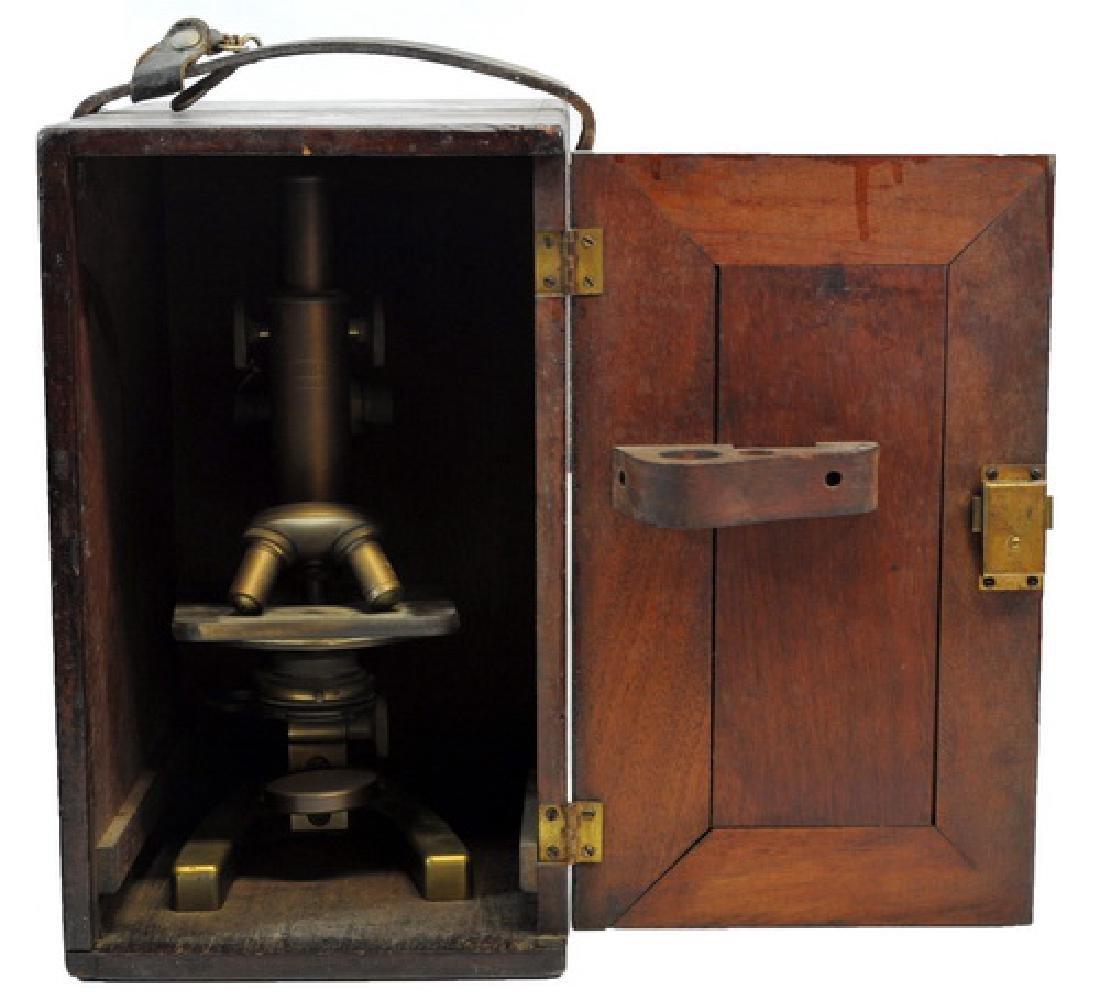 Antique Carl Zeiss Jena Microscope - 4