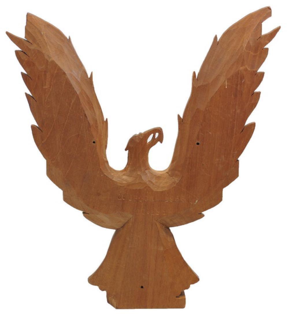 1956 J. Upton Wood Carved Eagle - 2