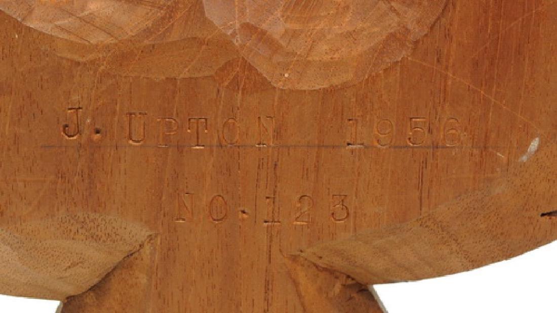 1956 J. Upton Wood Carved Eagle - 3