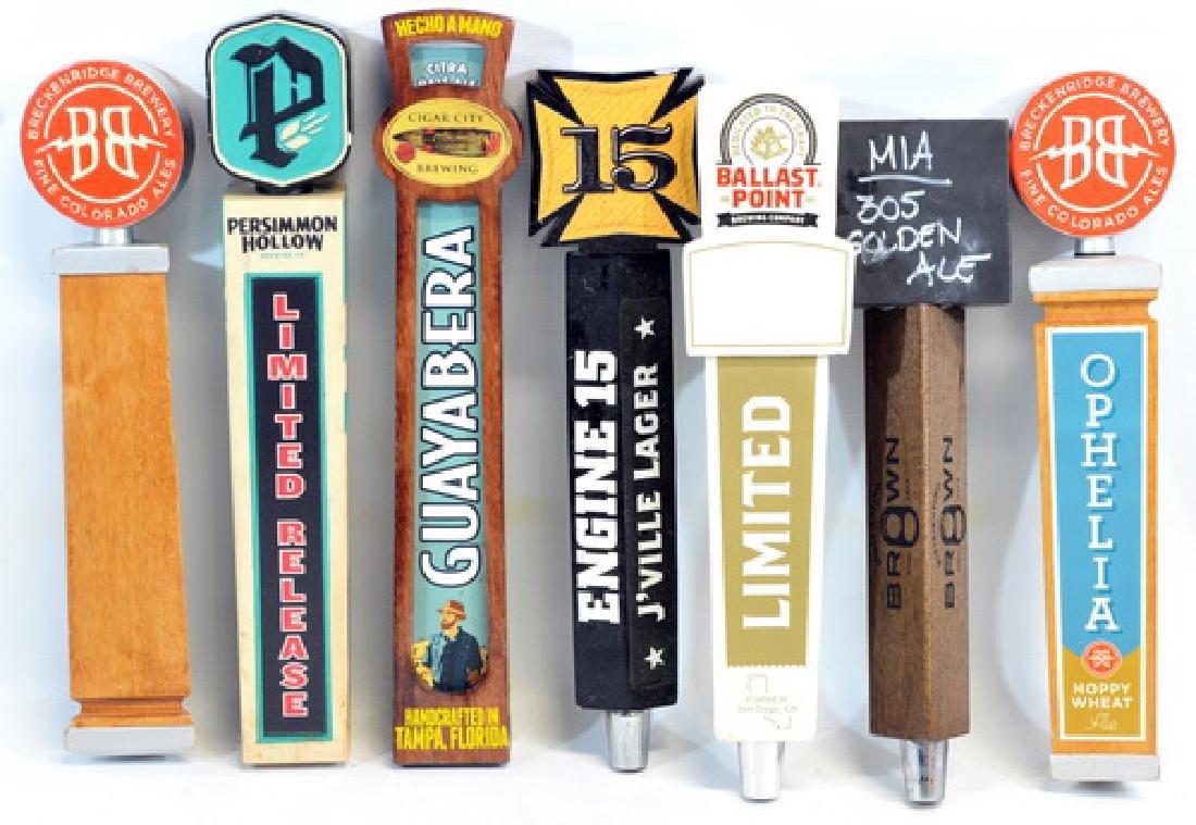7 Beer Tap Handles/keg Handles