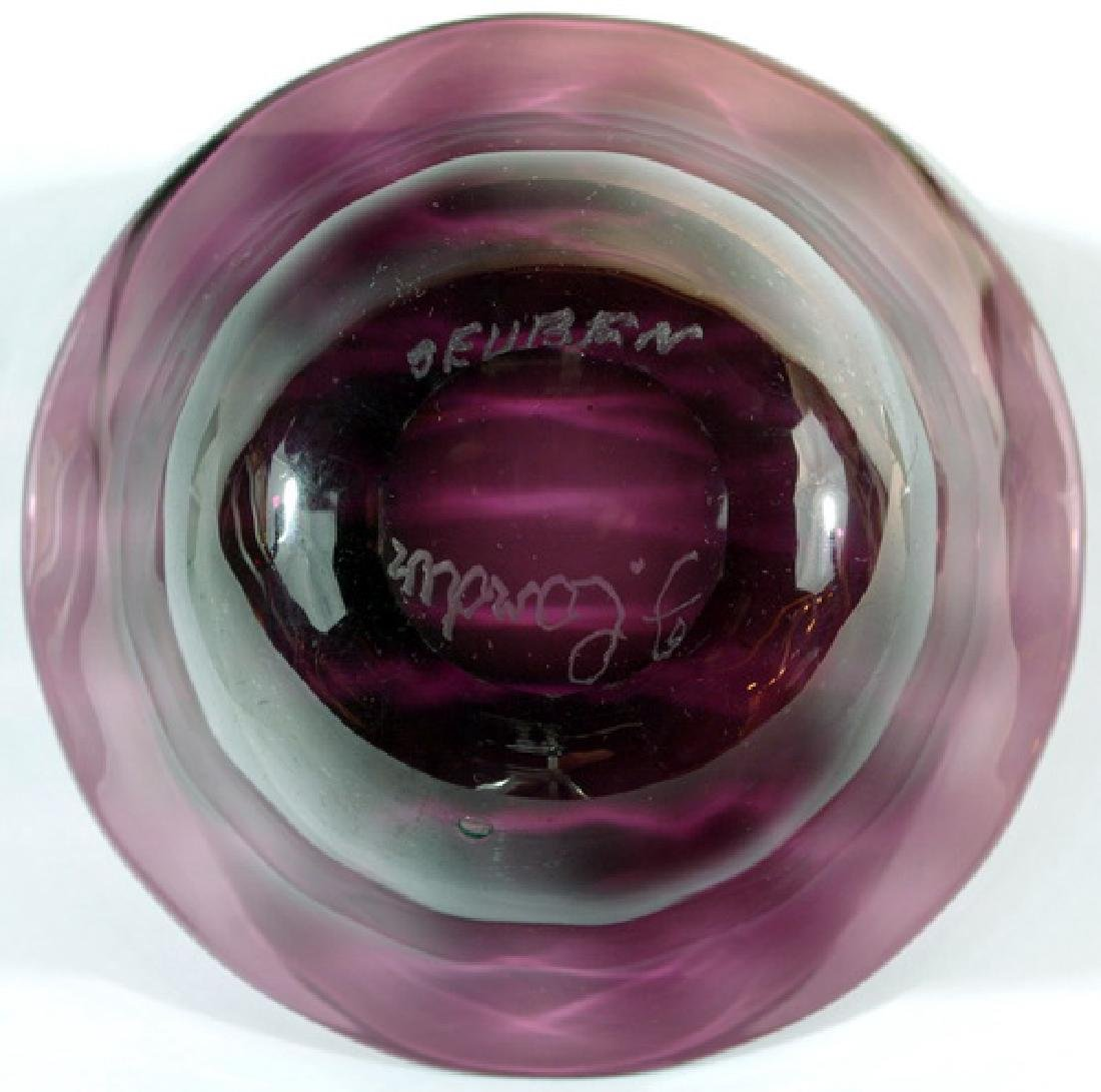Two Frederick Carder Steuben Amethyst Bowls - 5