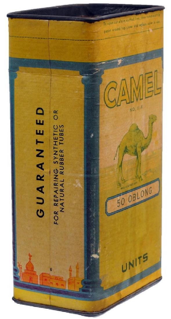 Pre-wwii New Old Stock Camel Tube Repair Kit - 3