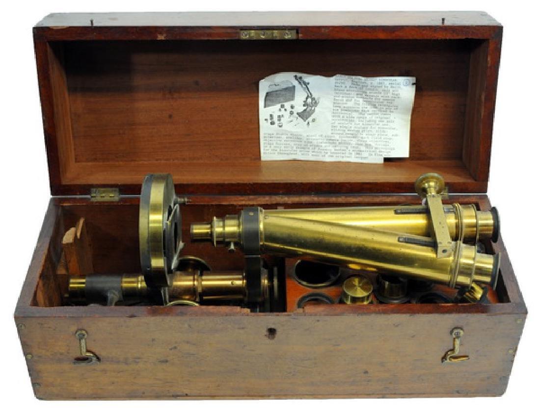Smith, Beck And Beck Binocular Microscope