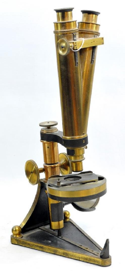 Smith, Beck And Beck Binocular Microscope - 2