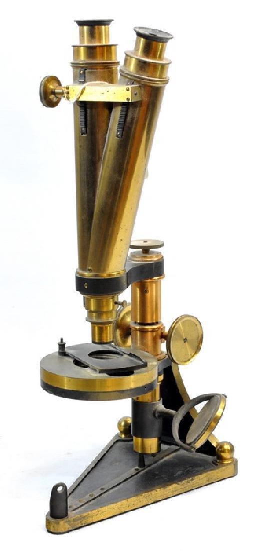 Smith, Beck And Beck Binocular Microscope - 3