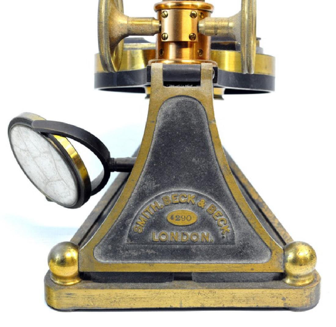 Smith, Beck And Beck Binocular Microscope - 4