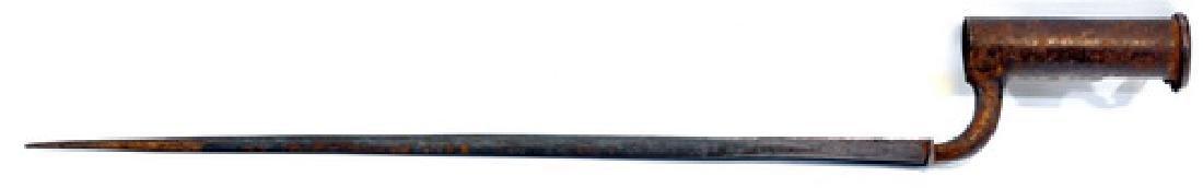 Revolutionary War 1760 British Brown Bess Bayonet - 2