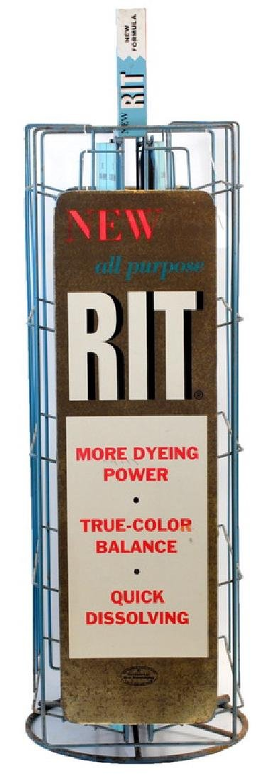 1950's Rit Country Store Dye Display