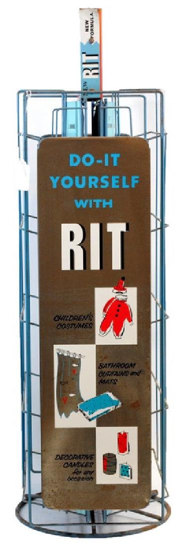 1950's Rit Country Store Dye Display - 3