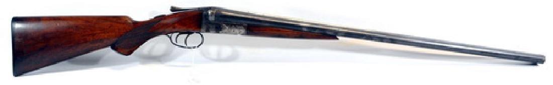 Ah Fox Sterlingworth 12 Gauge Double Shotgun