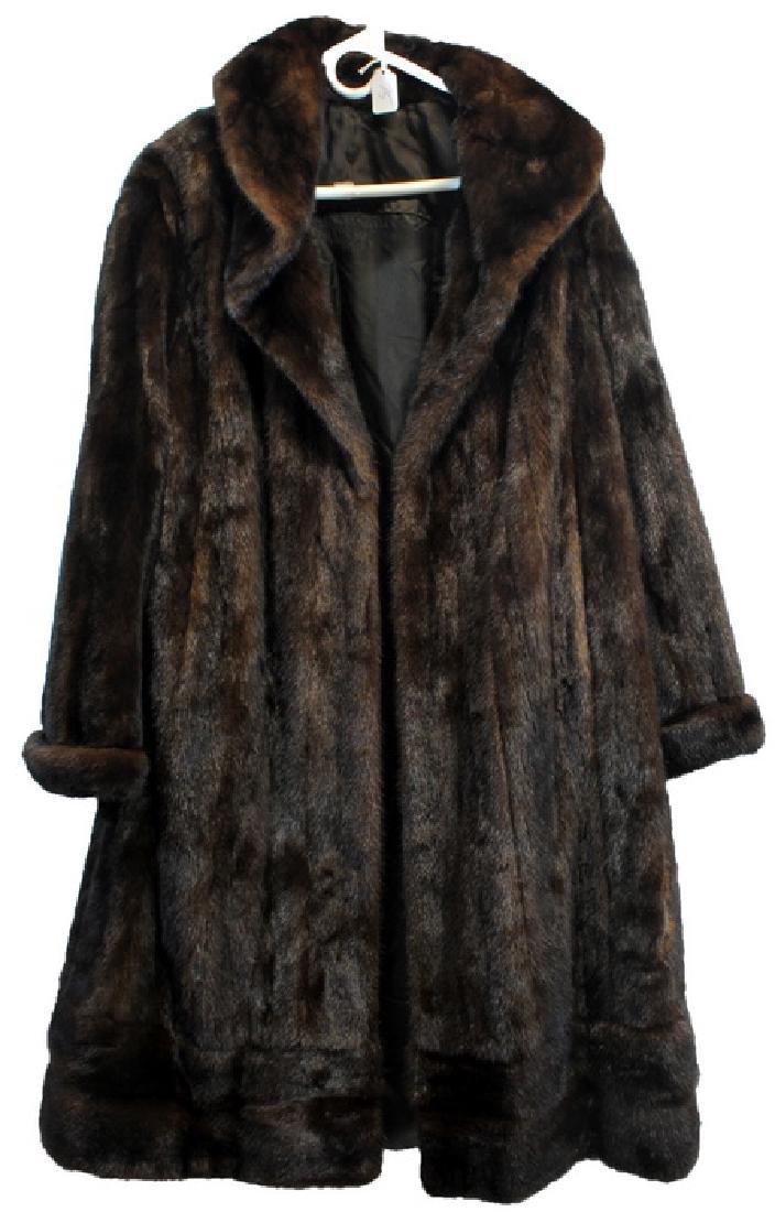 Full Length Vintage Mink Coat