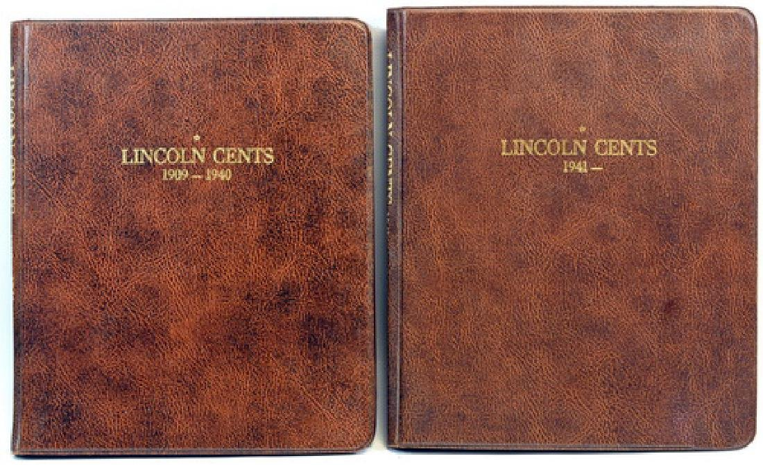 Two Lincoln Pennies Partial Books 1909-