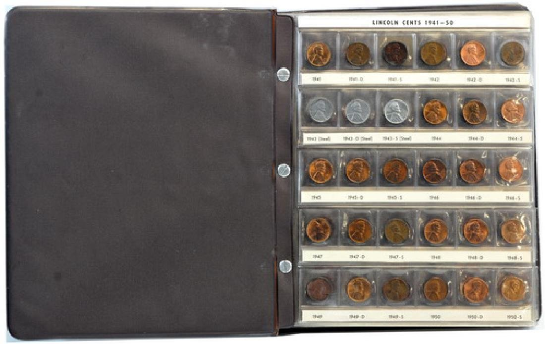 Two Lincoln Pennies Partial Books 1909- - 3
