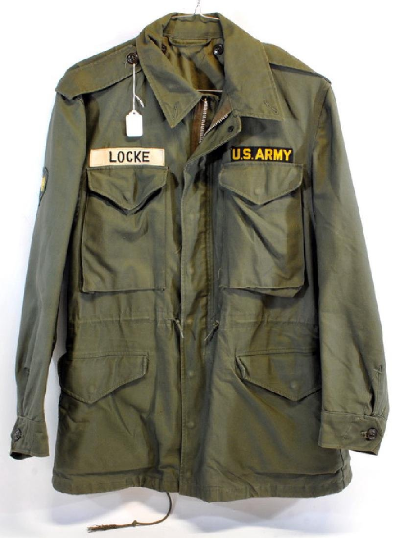 1 Od Field Jacket With 8th Division Patch and