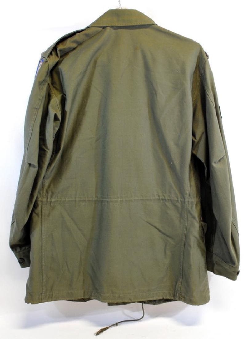 1 Od Field Jacket With 8th Division Patch and - 2