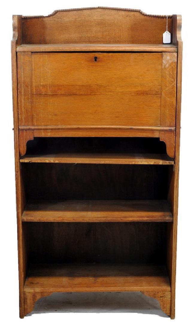 Antique Oak Larkin Junior Desk
