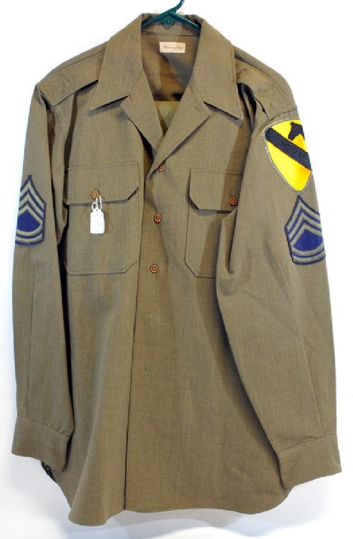 WW2 Od Wool Pants Waist 42 With 33 Inseam
