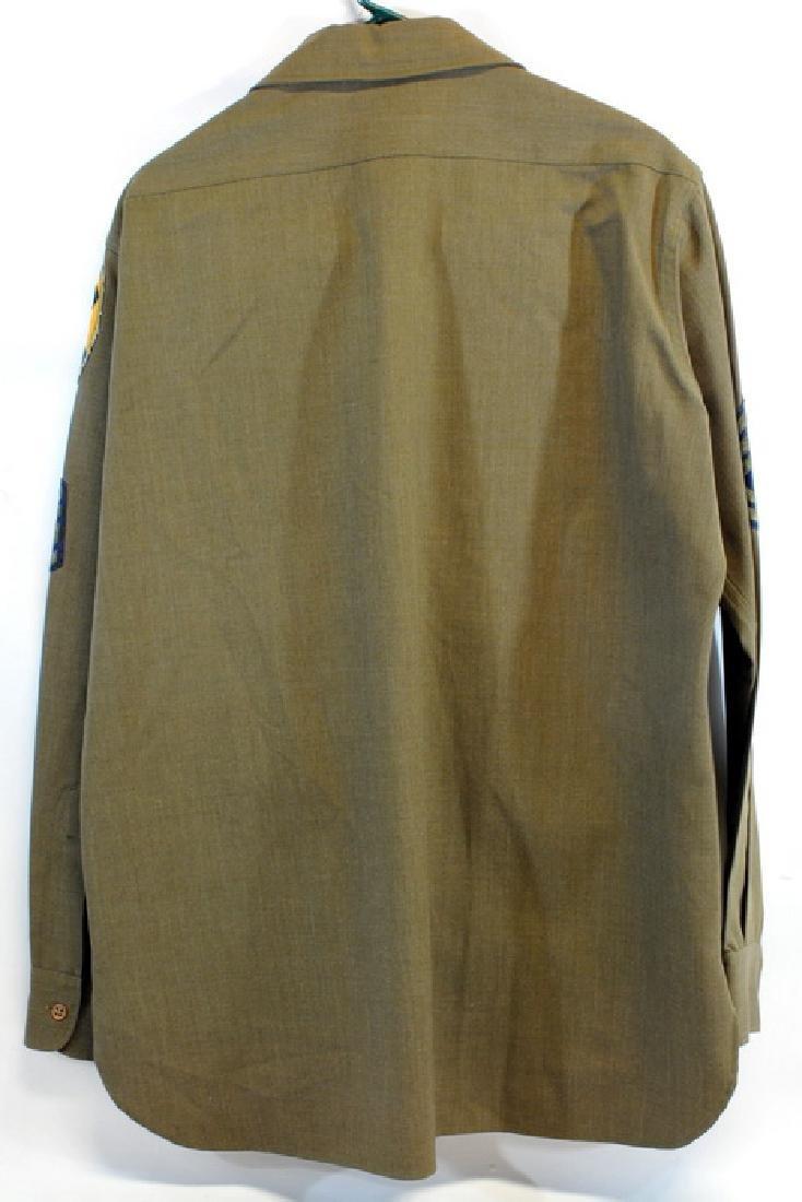 WW2 Od Wool Pants Waist 42 With 33 Inseam - 2