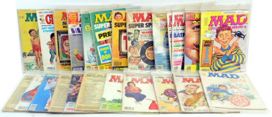 Twenty Three  Mad Magazines