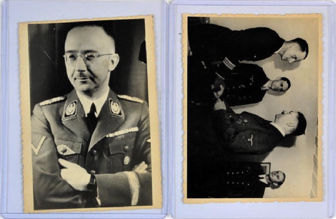 Four Original Photos High Ranking Germans