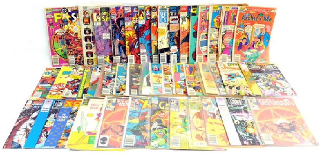 50 Misc. Comic Books, Donald Duck, Henry,