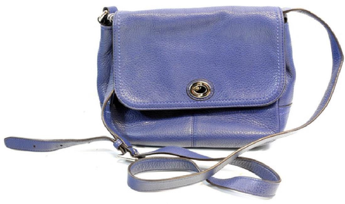 Coach Park Leather Crossbody Purse & Wristlet